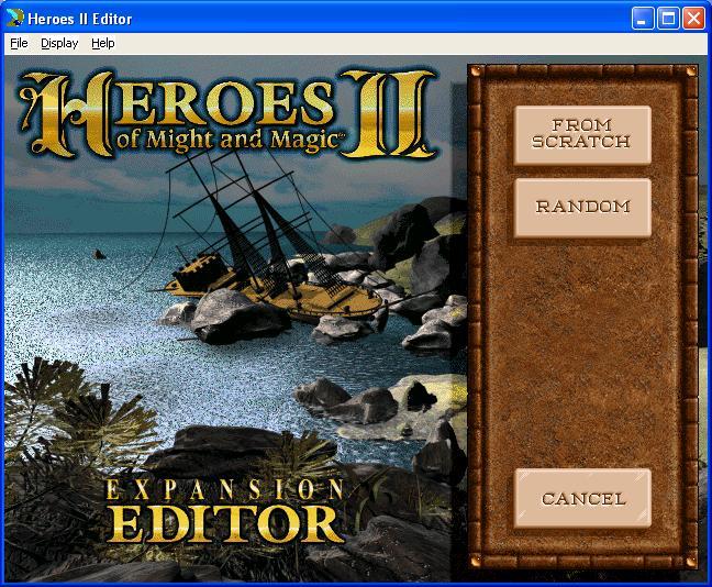 RPGClassics com - Map Editor - Heroes of Might and Magic II