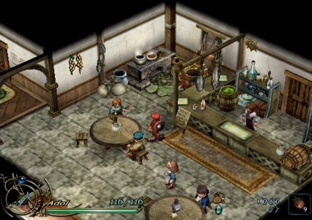 RPGClassics com: Ys VI: The Ark of Napishtim - Walkthrough: Canaan